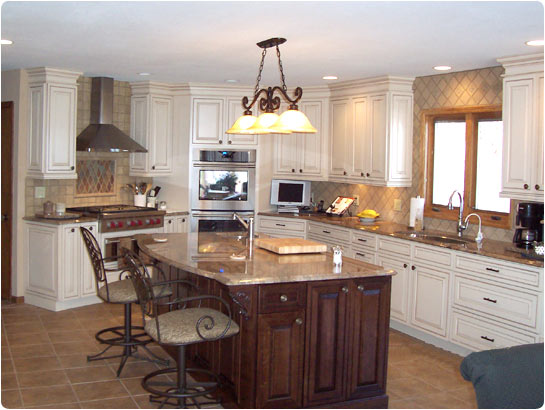 Lake builders kitchen supply mo portfolio photo for Kitchen designs photo gallery